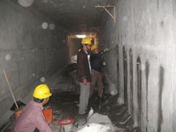 天津地下室堵漏项目